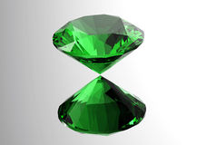 os diamantes 3D rendem Pedra preciosa da joia Imagens de Stock Royalty Free