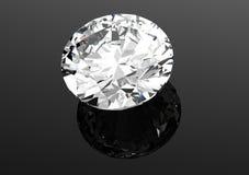 os diamantes 3D rendem Pedra preciosa da joia Foto de Stock