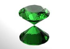 os diamantes 3D rendem Pedra preciosa da joia Foto de Stock Royalty Free