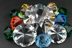 Os diamantes são forever imagem de stock royalty free