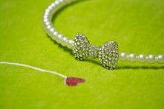 Os diamantes são para sempre, como seu amor! imagens de stock royalty free