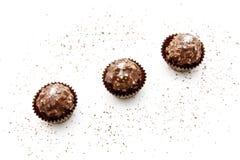 Os doces de chocolate Imagens de Stock