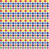 Os doces sem emenda pontilham o fundo Ilustração do Vetor
