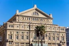 Os dois pontos de Teatro em Buenos Aires Imagens de Stock