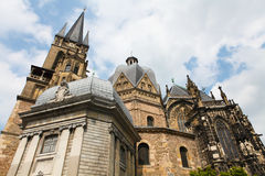Os DOM de Aix-la-Chapelle Imagem de Stock Royalty Free