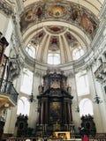 Os DOM de Salzburger imagens de stock royalty free