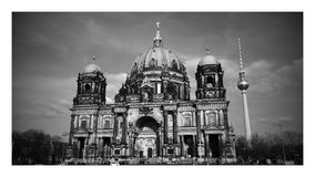 Os DOM do berlinês fotografia de stock