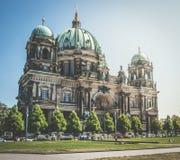 Os DOM do berlinês da catedral de Berlim em Berlim, Alemanha Foto de Stock