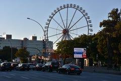Os DOM do Hamburger justos em Hamburgo, Alemanha Imagem de Stock Royalty Free