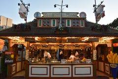 Os DOM do Hamburger justos em Hamburgo, Alemanha Imagens de Stock Royalty Free