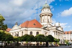 Os DOM franceses de Franzosischer da catedral em Berlim Imagem de Stock