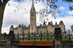 Os edifícios do parlamento, Ottawa Foto de Stock Royalty Free