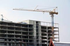 Os edifícios são construídos Foto de Stock Royalty Free