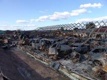 Os efeitos do fogo Imagem de Stock Royalty Free