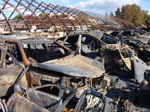 Os efeitos do fogo Foto de Stock Royalty Free