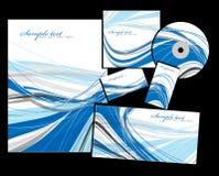 Os elementos do estilo de marcagem com ferro quente corporativo Imagens de Stock