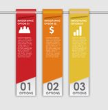 Os elementos do projeto de INFOGRAPHICS vector a ilustração Foto de Stock Royalty Free