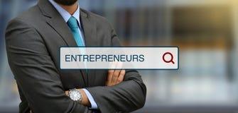 Os empresários procuram ilustrações da barra com o profissional no fundo Fotos de Stock