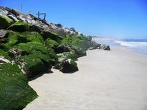 Os encantos da praia do português Fotos de Stock