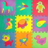 Os enigmas das crianças com animais Imagens de Stock Royalty Free