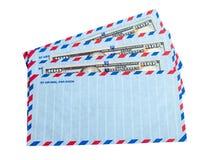 Os envelopes e descontam dentro dólares Imagens de Stock