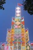 OS:er som bygger, utläggning parkerar, Los Angeles, Kalifornien Royaltyfri Fotografi