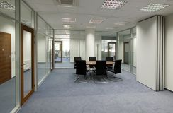 Os espaços de escritórios foto de stock royalty free