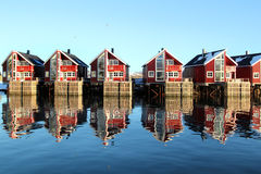 Os espelhos de Svinoya Fotos de Stock Royalty Free