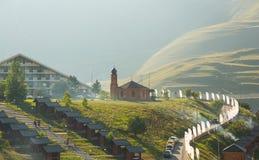 Os esportes e o complexo do turista Kezenoy-estão em Chechnya Fotografia de Stock