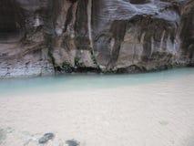 Os estreitos, parque nacional de Zion, Utá Foto de Stock Royalty Free