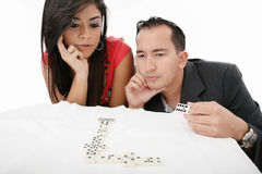 Os executivos discutem ou fazem a decisão Imagem de Stock Royalty Free