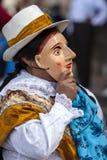 Os executores no primeiro de maio desfilam em Cusco, Peru Imagem de Stock Royalty Free