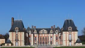 Os exteriores e o parque de Grosbois fortificam, leger de Saint de Boissy, França Fotografia de Stock Royalty Free