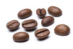 Os feijões de café fecham-se acima Imagens de Stock