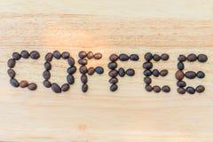 Os feijões de café são literalmente imagens de stock royalty free