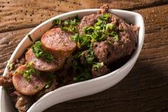 Os feijões triturados com salsicha chamaram Tutu de Feijao em Brasil Imagem de Stock Royalty Free
