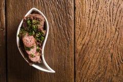 Os feijões triturados com salsicha chamaram Tutu de Feijao em Brasil Imagens de Stock Royalty Free