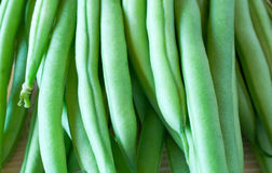 Os feijões verdes fecham-se acima Foto de Stock Royalty Free