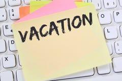 Os feriados do feriado das férias relaxam o negócio relaxado do tempo livre da ruptura fotos de stock royalty free