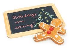 Os feriados estão vindo Imagem de Stock