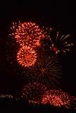 Os fogos-de-artifício Fotos de Stock Royalty Free