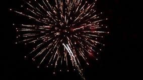 Os fogos-de-artifício indicam no festival e no evento filme