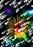 Os fogos-de-artifício nas recordações Imagens de Stock Royalty Free
