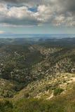 Os formulários diferentes da montanha: vales, planícies imagens de stock