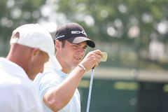Os franceses do golfe de Martin Kaymer (GER) abrem 2009 Fotos de Stock Royalty Free