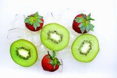 Os frutos refrigerados são o melhor! fotografia de stock