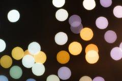 Os fundos coloridos do bokeh, cebola borraram fundos do bokeh da cor Imagem de Stock