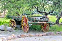 Os-getrokken wagen stock foto's