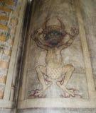 Os gigas do códice igualmente chamaram a Bíblia de Diabo Imagem de Stock