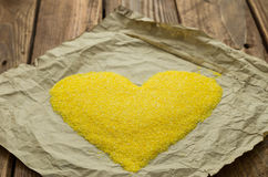 Os grãos de milho Fotografia de Stock Royalty Free
